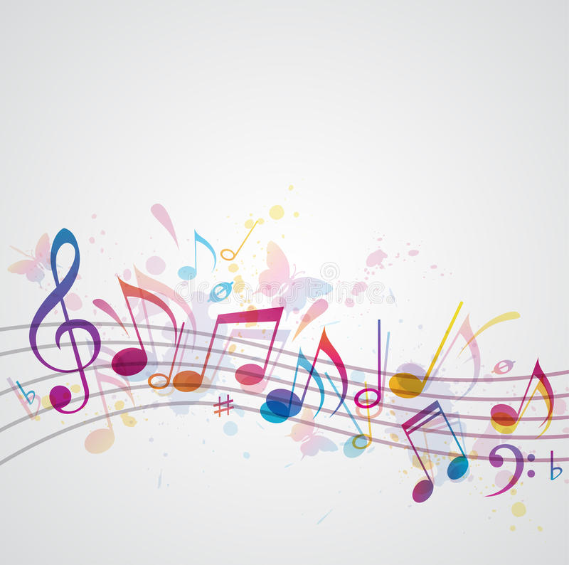 Music Background Stock Vector. Illustration Of Sound