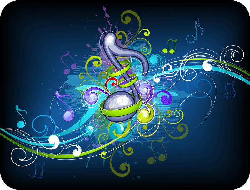 Download Music Background Design Stock Photography - Image: 16455832