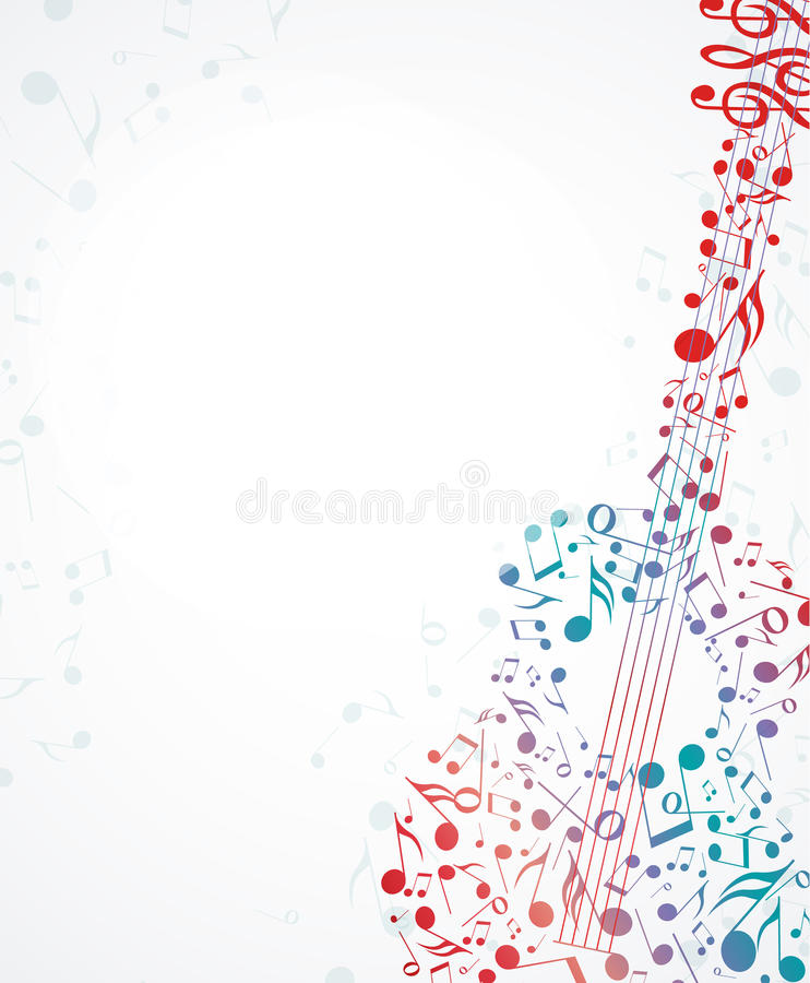 Download Music background stock vector. Image of classic, media - 31432772