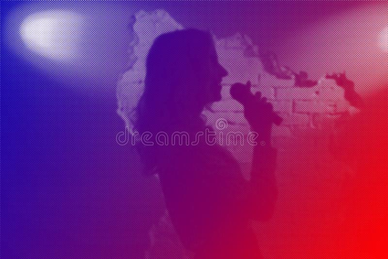 Download Music band Jazz stock image. Image of image, music, halftone - 113314797