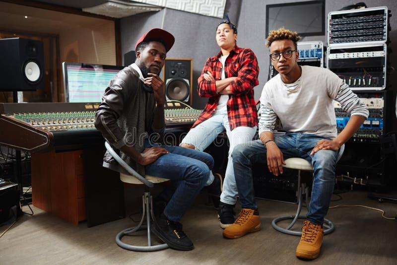 Music band royalty free stock image