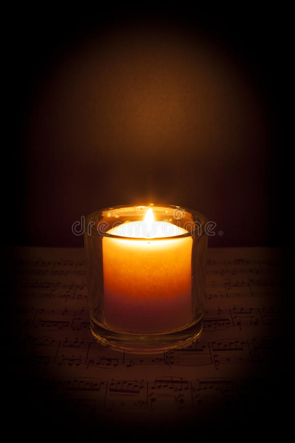 Music by Candlelight stock photos