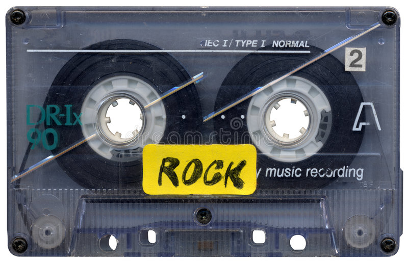 Music Cassette Tape Royalty Free Stock Image