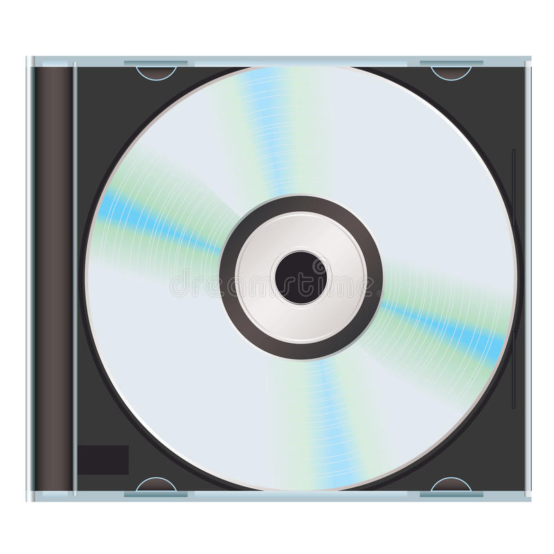 Free Music Cd Case Black Royalty Free Stock Photography - 14519077