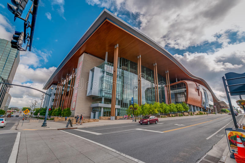Music City Center stock photography