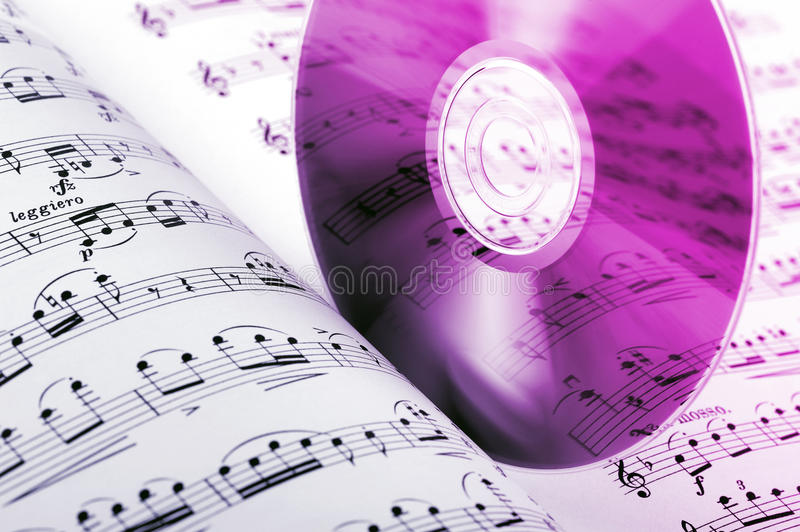 Download Music Compact Disk Royalty Free Stock Photo - Image: 20097495
