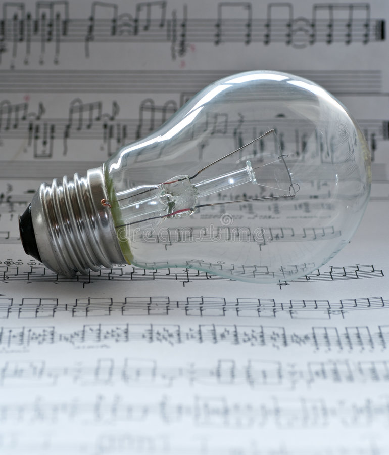 Music composition royalty free stock photo