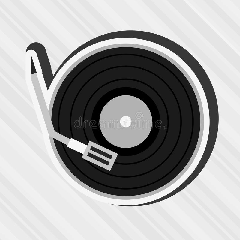 Music concept design. Illustration eps10 graphic stock illustration
