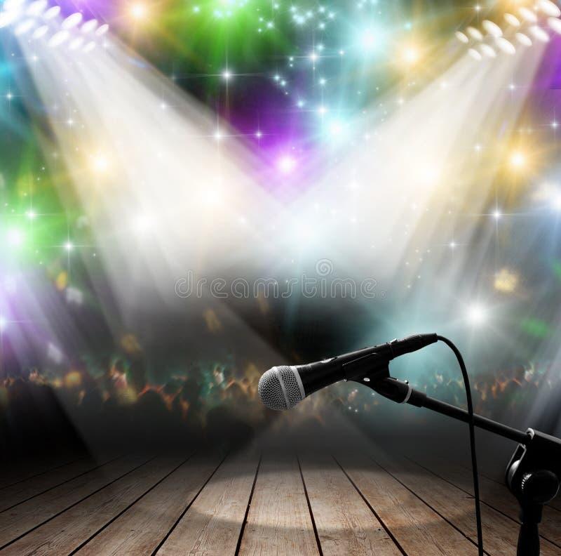 Music concert vector illustration