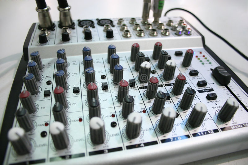 MUSIC CONTROL 2 royalty free stock photography