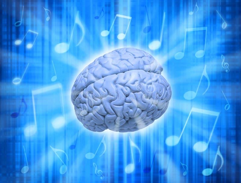 Music Creativity Brain stock image