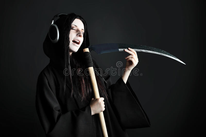 Music death royalty free stock photography