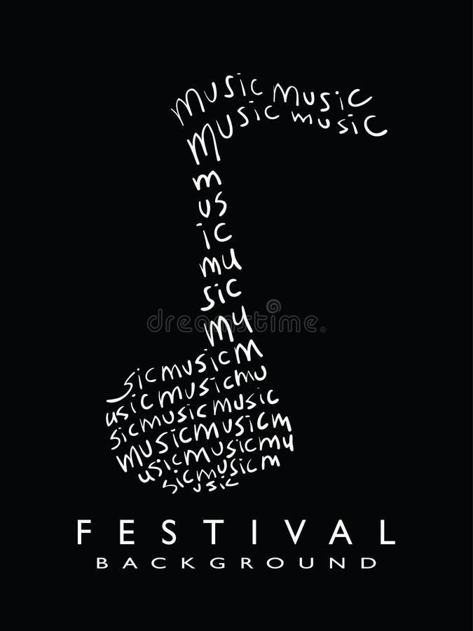 Music Design royalty free illustration