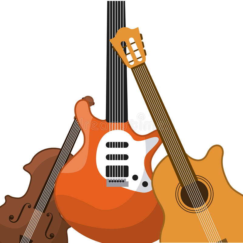 Music design. Vector illustration eps10 graphic royalty free illustration