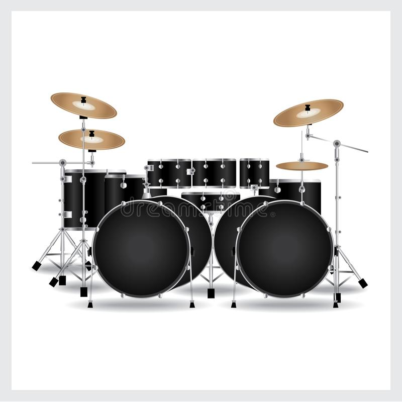 Music Drum Set Stock Vector Illustration Of Acoustic 102791935