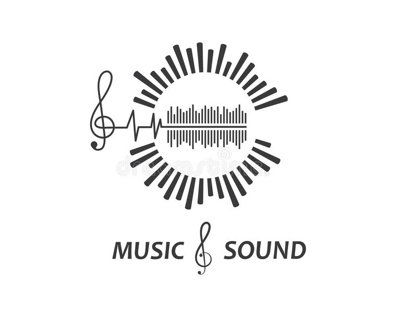 Music,equaizer And Sound Effect Ilustration Logo Vector Icon