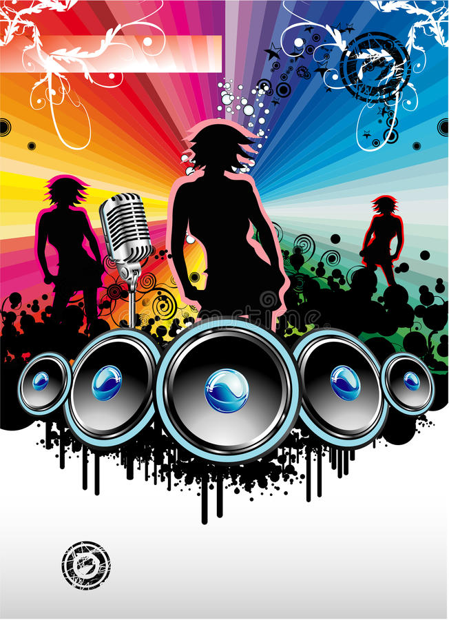 Download Music Event background stock vector. Illustration of bass - 9788246