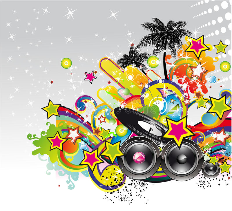 Download Music Event Background For Flyers Or Posters Stock Vector - Image: 12141074