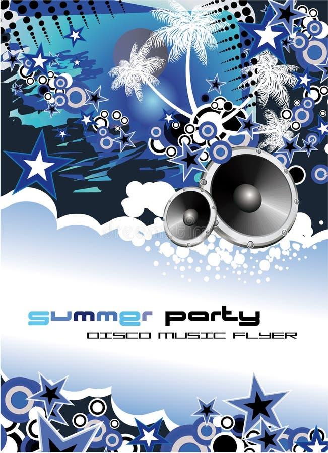 Music Event Discoteque Flyer vector illustration
