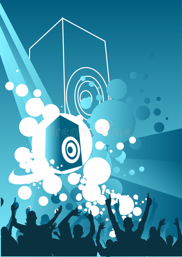 Free Music Explosion Royalty Free Stock Photography - 1415937
