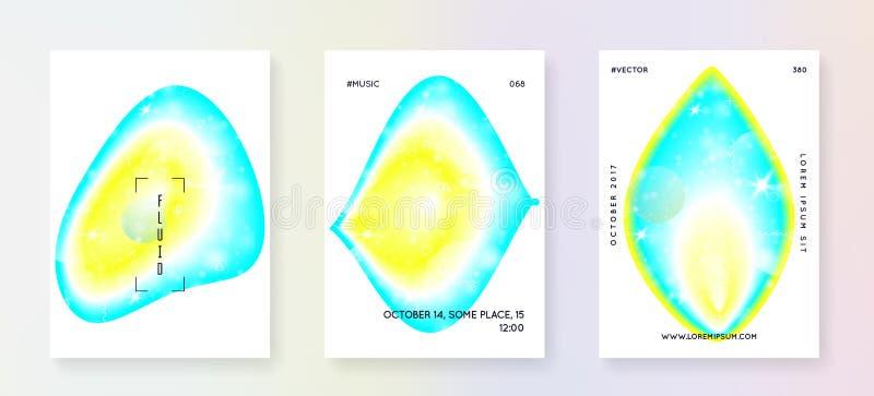 Music fest summer poster and flyer. vector illustration