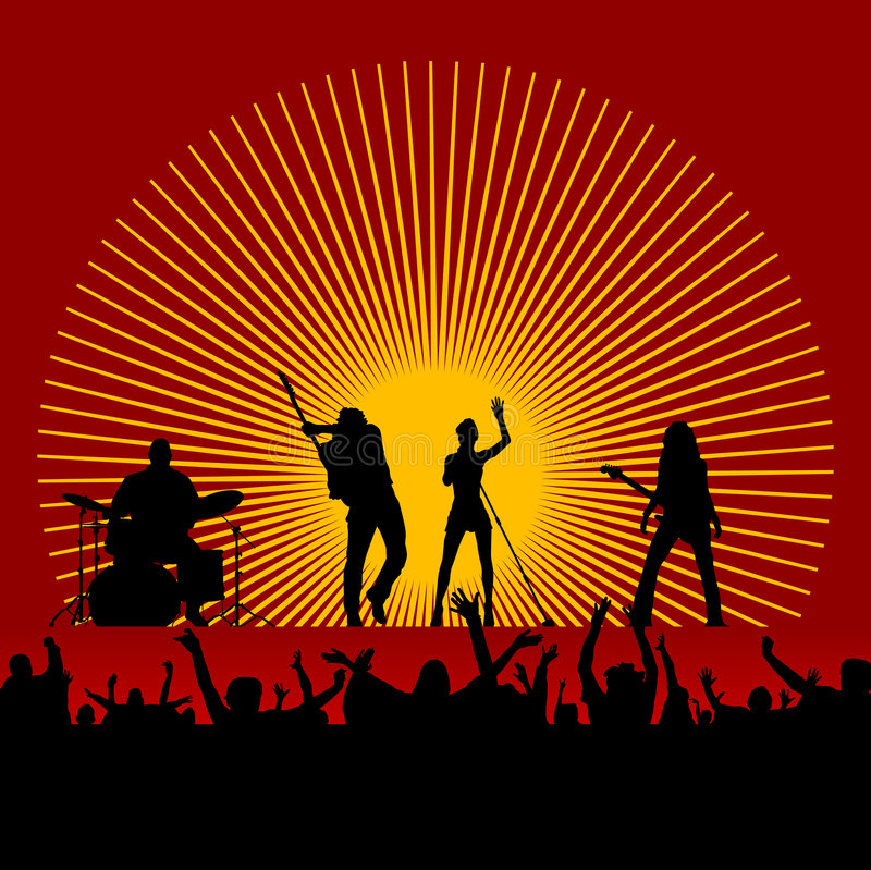 Download Music Festival Vector Stock Image - Image: 6908711