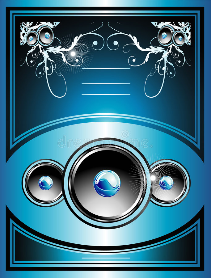 Music Flayer background stock images