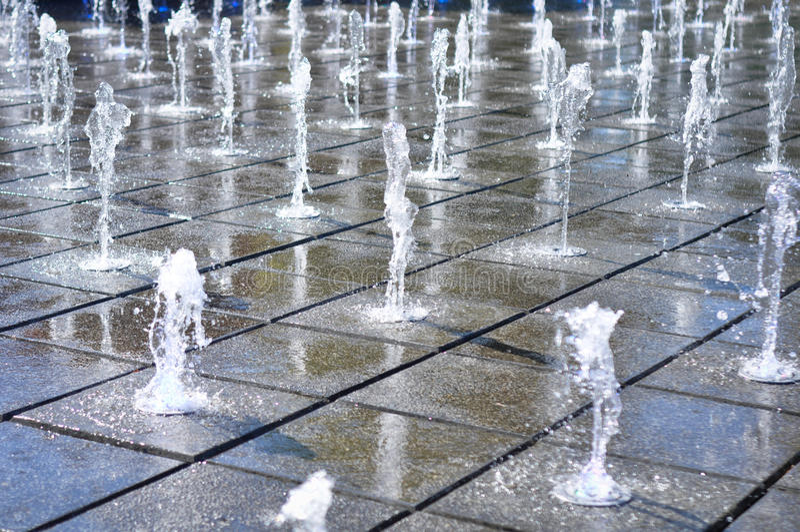 Music Fountain Stock Photography