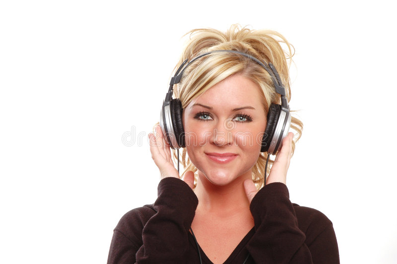 Music fun royalty free stock photo