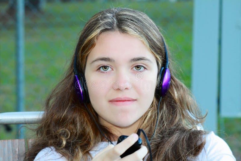 Download Music girl stock photo. Image of brunette, lite, ipod - 19141194