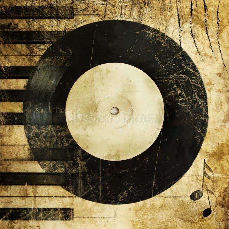Music grunge royalty free stock photography