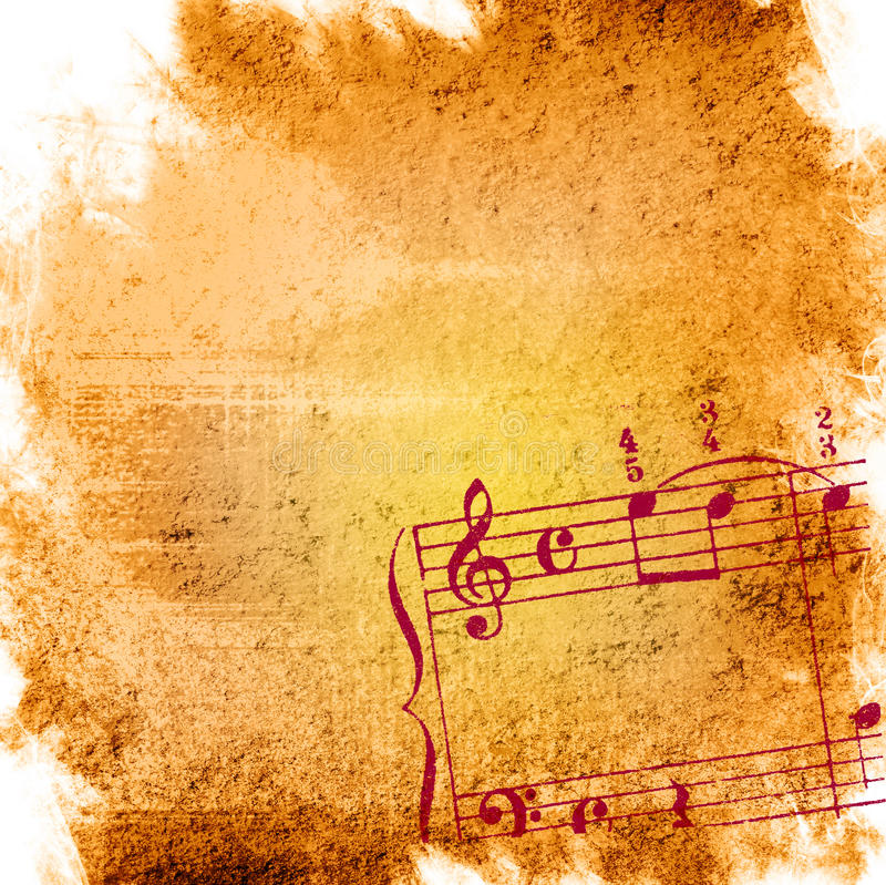 Music grunge backgrounds royalty free stock images