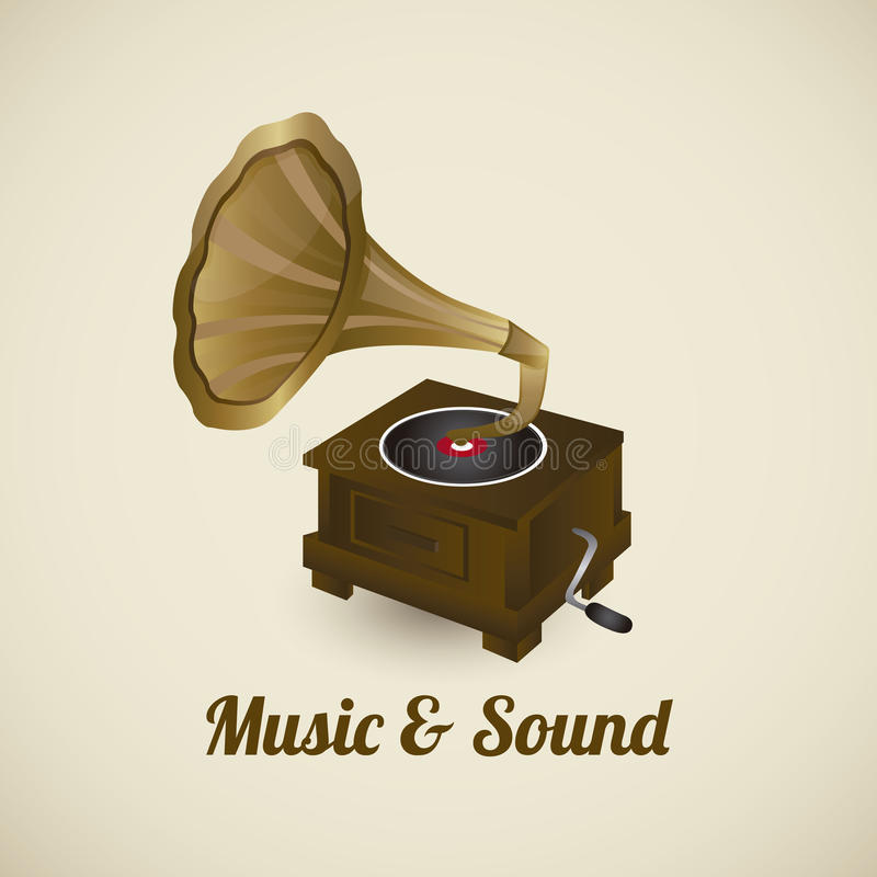 Download Music icons stock vector. Image of gramophone, doodle - 30513302