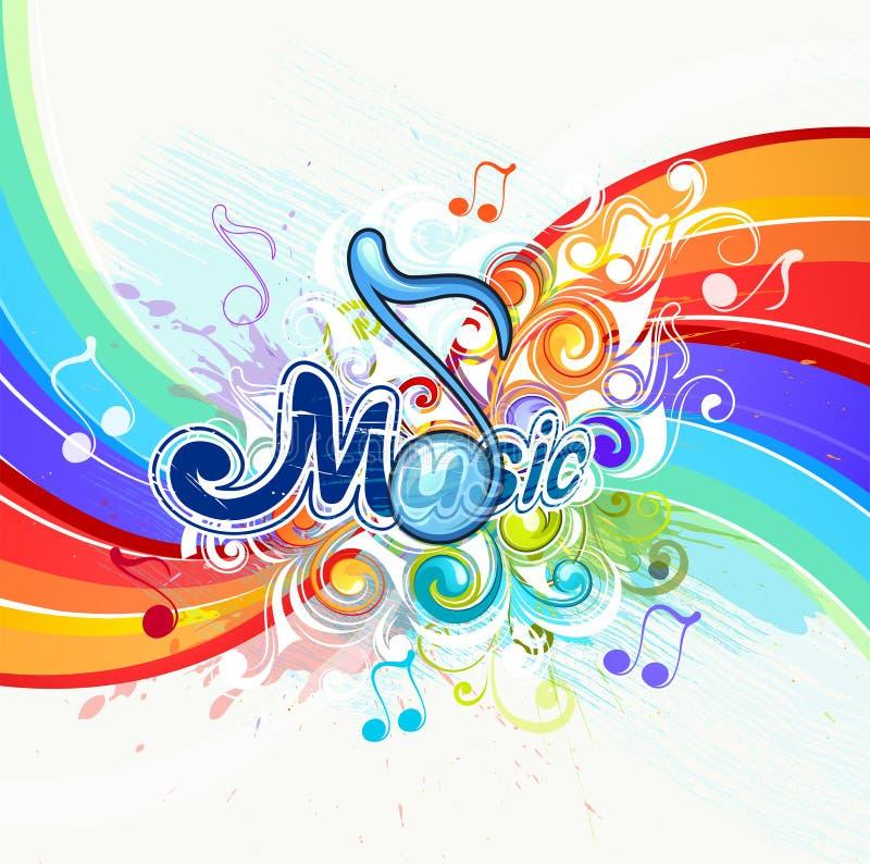 Music Illustration Background Royalty Free Stock Image