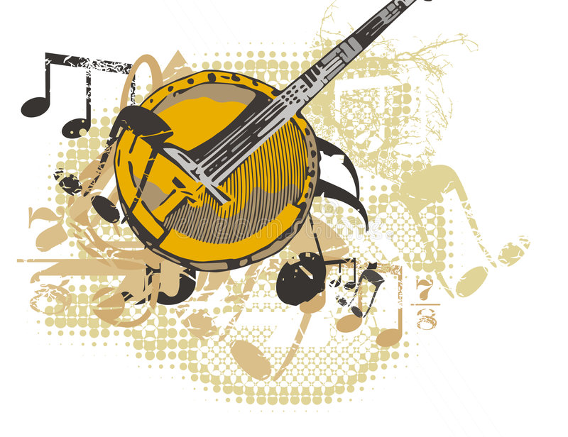 Download Music Instrument Background Stock Vector - Image: 1750310