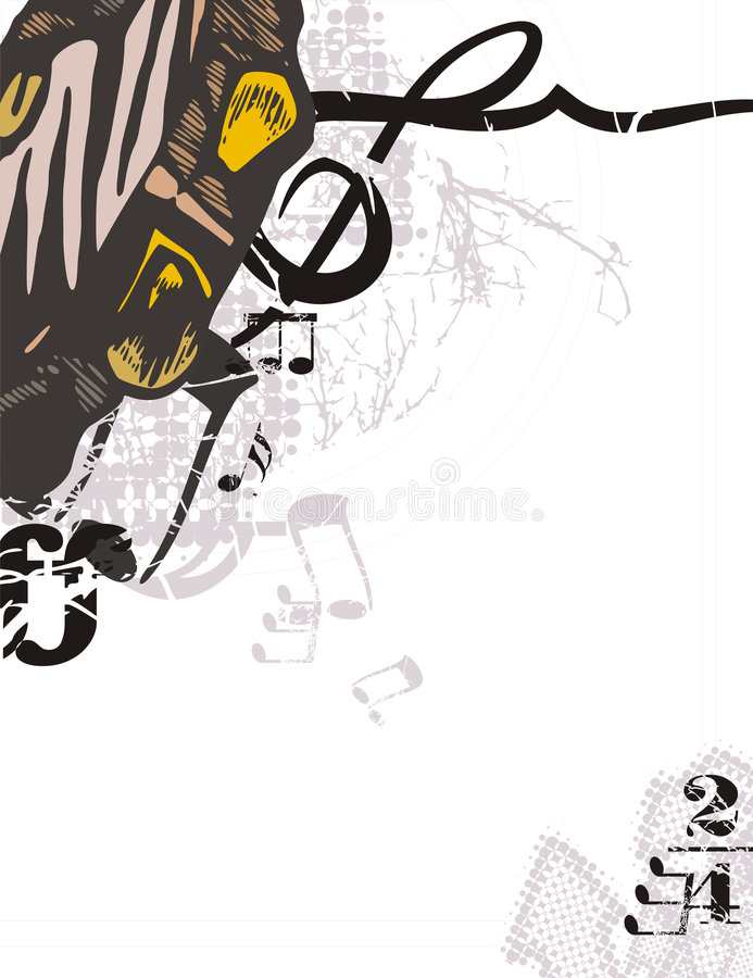 Download Music Instrument Background Stock Vector - Image: 1750584