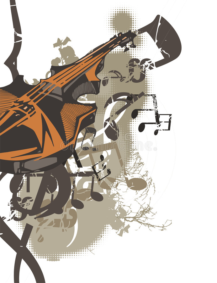 Download Music Instrument Background Stock Vector - Illustration of cellos, music: 1751152