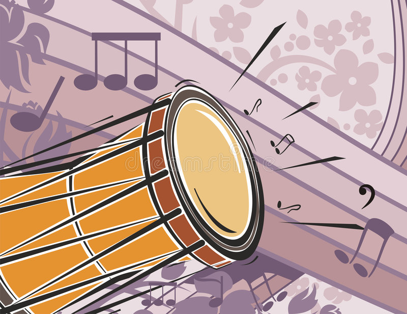 Download Music Instrument Background Stock Vector - Illustration of hand, expression: 1754890