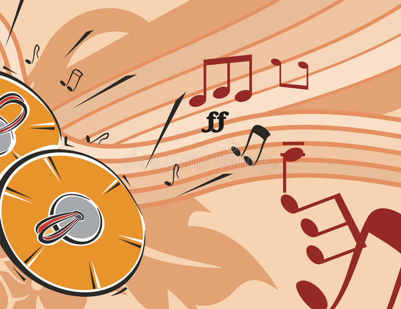 Download Music Instrument Background Stock Vector - Image: 1755180