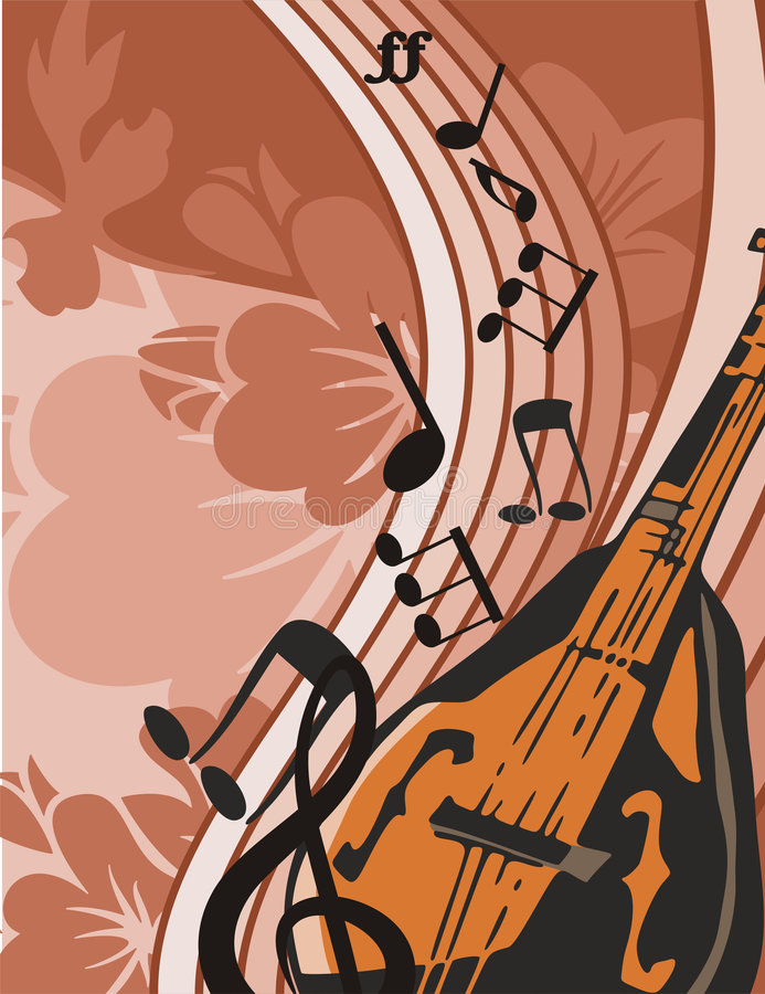 Music Instrument Background Stock Images
