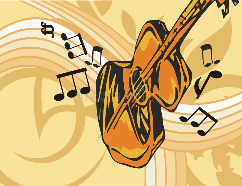 Download Music Instrument Background Stock Vector - Illustration of expression, brass: 1760896