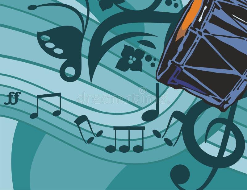 Music Instrument Background vector illustration