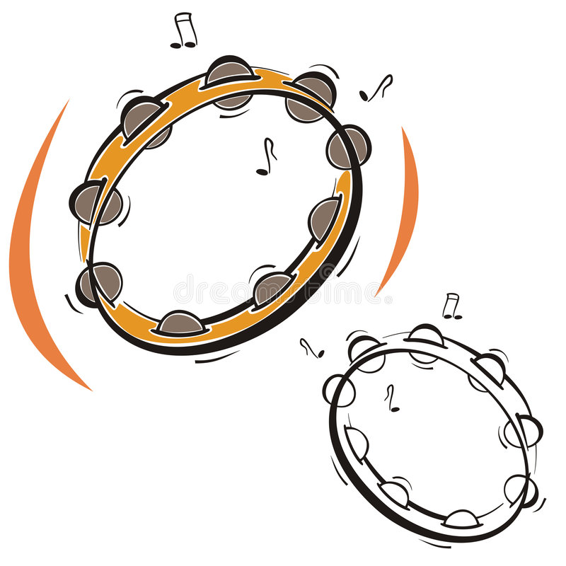 Music instrument series vector illustration