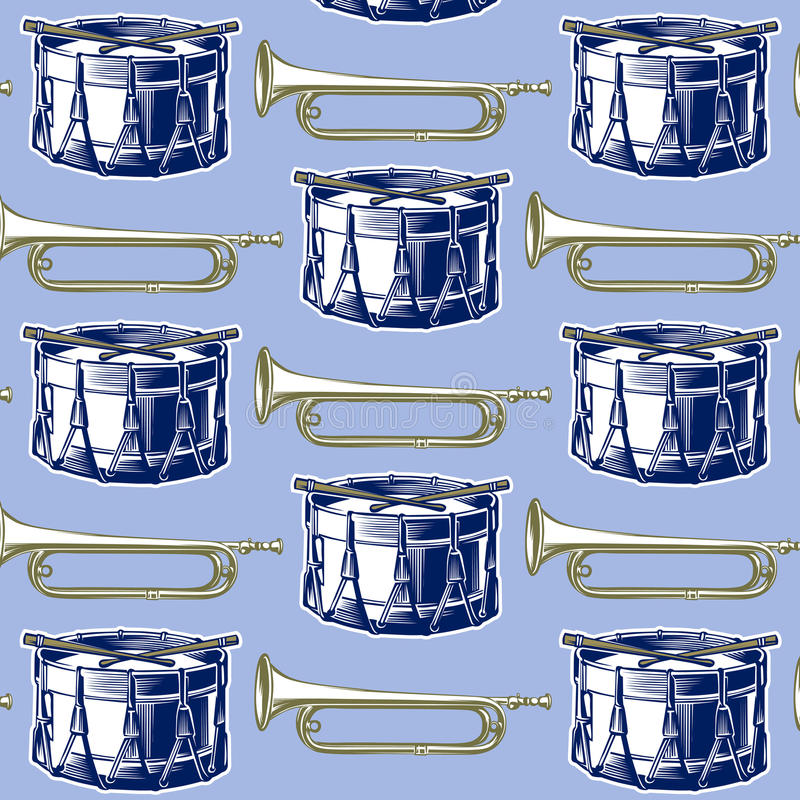 Download Music jazz band background stock vector. Image of classic - 21111664