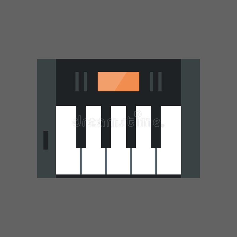 Free Music Keys Icon Electronic Piano Keyboard Concept Royalty Free Stock Photography - 98010307