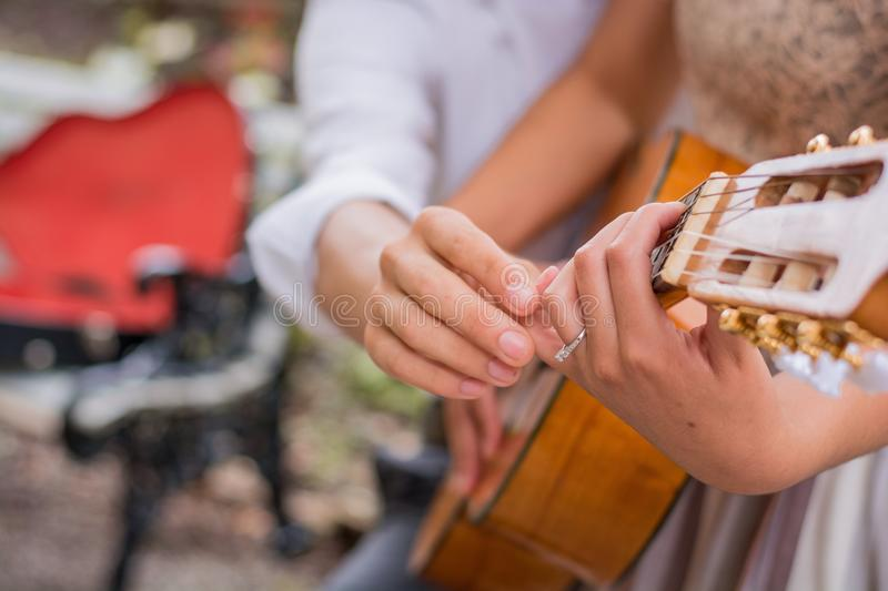 Music Lessons royalty free stock photo