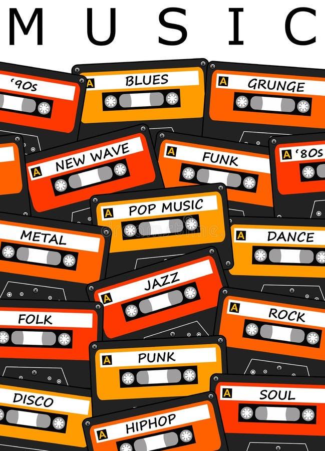 Music stock illustration. Illustration of disco, lyrics ...