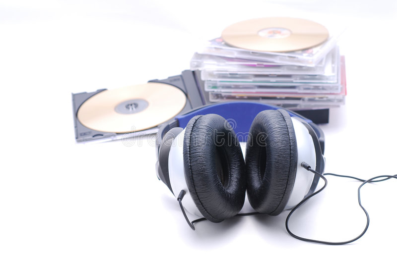 Music lovers royalty free stock image