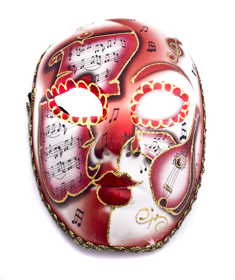 Free Music Mask Stock Images - 7650304