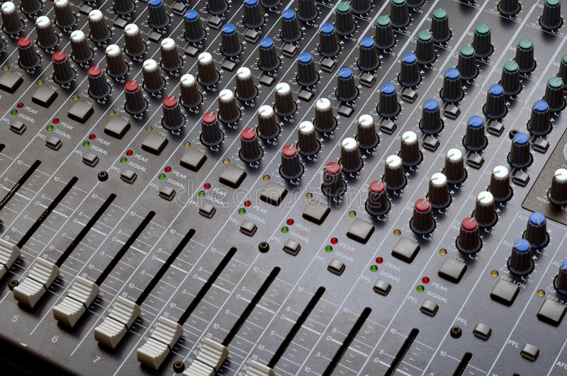 Download Music Mixer stock image. Image of artistic, control, complexity - 19893861
